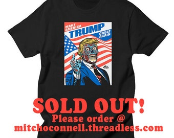 Stuff from the world 39 s best artist mitch by mitchoconnell for Donald trump tattoo shirt