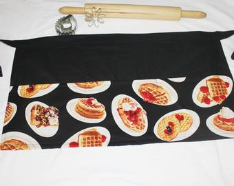 Waffles Adult Apron