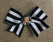 Star Trek Spock Vulcan Salute Hair Bow