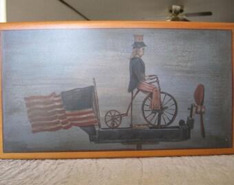 Lane Cedar Chest Miniature American Folk Art Collection 1995