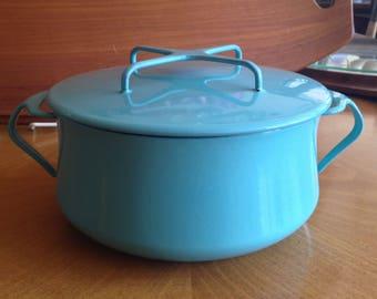 Turquoise Dansk Kobenstyle Pot