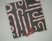 Mini Cards, Candy Cane Cards, Matchbook Mini Cards, Christmas Tags, Tags, To Froms, Set of 6, Mini Tags, Christmas Mini Cards