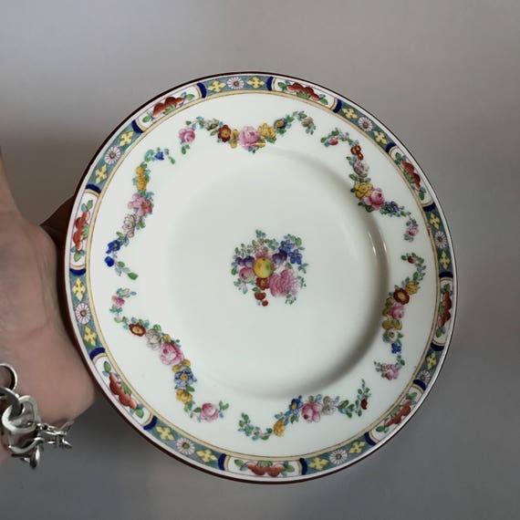 Like this item? & Birks Minton Rose Plate 7 3/4 . Minton China Plate. Rose