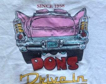 Vintage Don's Drive In Traverse City, Michigan t shirt