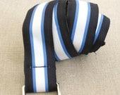 Cloth Belt, Web Belt, Grosgrain Ribbon Belt, Preppy, Navy Blue, Baby Blue, Mens, Unisex, Casual Belt, Vintage, Designer,Fashion,Accessory