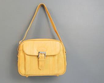 New Old Stock Vintage American Tourister Travel Bag - Vinyl Shoulder Bag