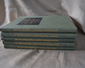 The CIBA Collection of Medical Illustrations (5 books)