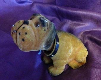Vintage dog bobble head nodder Bulldog saint bernard bobblehead Scooby Doo - At Everything Vintage Shipping Is On Us!