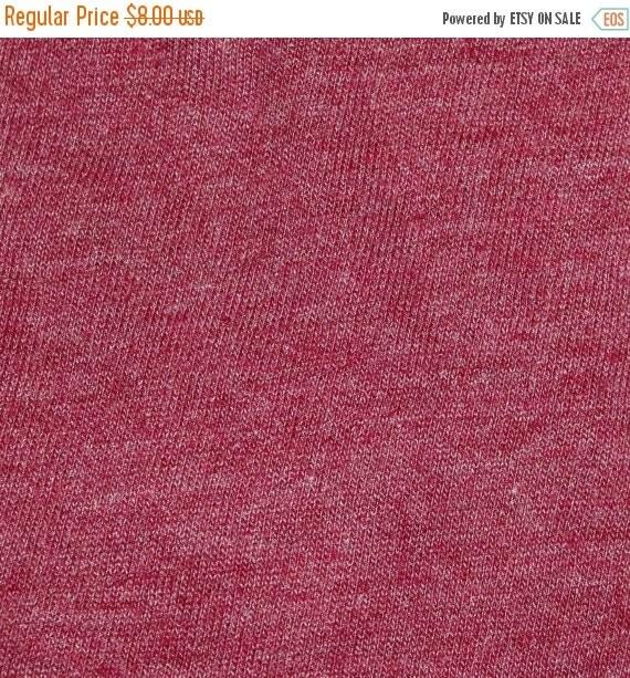 "Jersey Knit Fabric,Polyester Spandex Lycra Fabric,2 Way Stretch,Soft,Lightweight 58"" Wide,Apparel Knit Fabric,Raspberry Jersey Knit Fabric"
