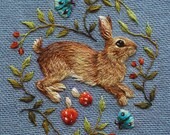 Baby Rabbit 1 Greetings Card