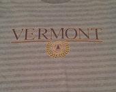 Vintage Vermont Striped T-Shirt