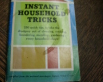 Free Shipping - Purse Book - Instant Household Tricks - Found In France