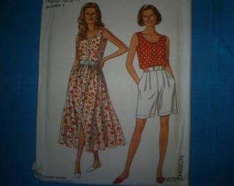 Simplicity 8356   Summer outfits Size 8-18.