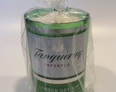 Vanilla Scented Tanqueray London dry gin liquor Bottle Candle  20oz Soy Wax Scented Candle  Bar Mancave - Wedding