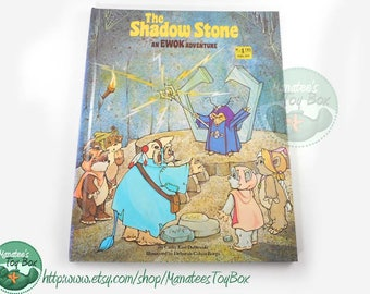 1980s Star Wars Book The Shadow Stone An Ewok Adventure Hardcover