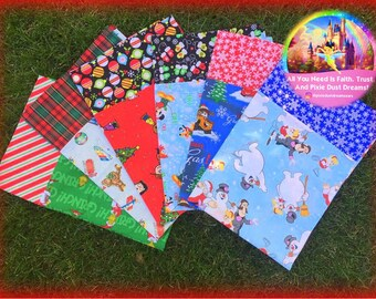 RTS Adroable Christmas Pillow Standard Size Pillow Coverings!!