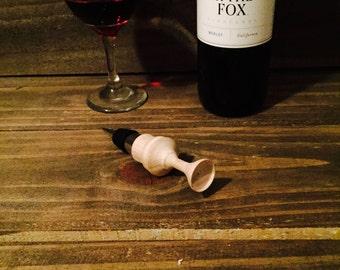 Wine bottle stopper- 5 o'clock Somewhere