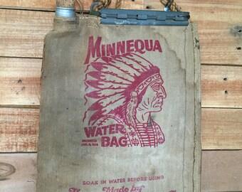 Minnequa desert water bag early 1950's