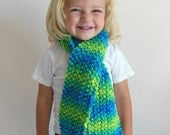 OOAK Double Knit Scarf in Toddler/Child Size