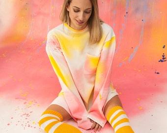 Dreamer Pastel Paradise Sweater