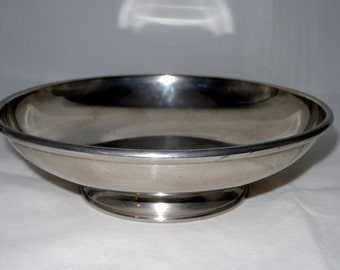 Stieff Pewter Footed Bowl