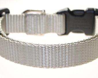 "Grey 3/4"" Width Adjustable Collar"