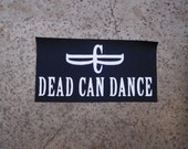Dead can dance gothic rock band sew on patch