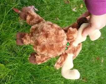 Moose Stuffed Animal PATTERN