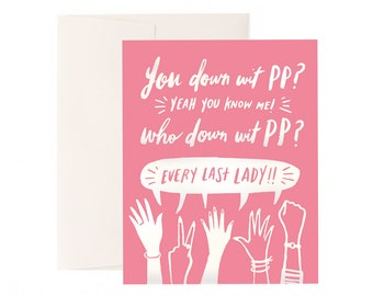 You Down Wit' PP? 2017 Special Projects Greeting Card