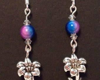 Easter Earrings Lily