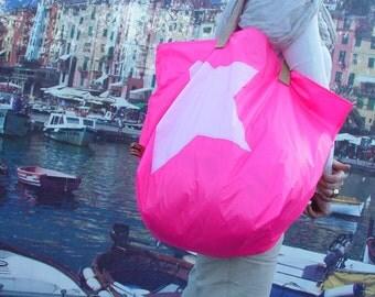 XL Shopper aus Spinnaker pink