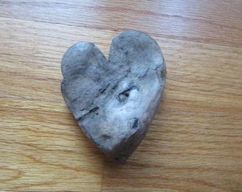 Driftwood Heart Shaped Cutout Handcrafted Driftwwod Heart Love Engagement Wedding Supplies