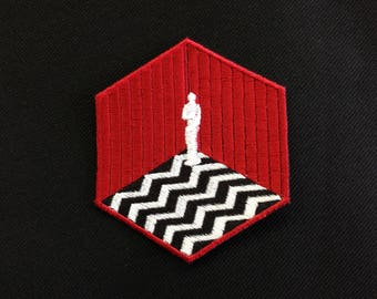 Waiting room of the Black Lodge Patch / Red Room / Twin Peaks
