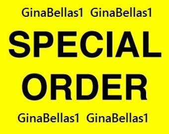 GinaBellas1 SPECIAL ORDER Private for Lilly Ramalheira