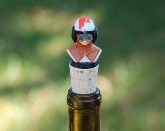 Anakin Skywalker Wine Bottle Stopper Star Wars Bust