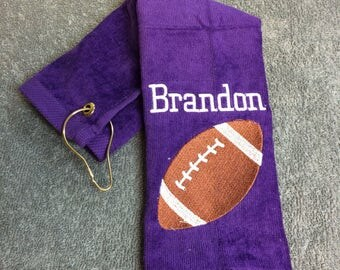 24 sport  towels, personalized, football, basketball, vollleyball, baseball, softball, or any other, towel, sport towels