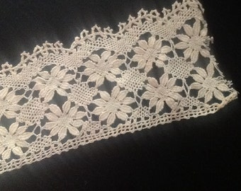 Beautiful antique lace/crocheted hand work