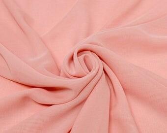 Hi Multi Chiffon Fabric - 5 Yards - Blush (273)