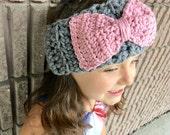Crocheted Earwarmers - Child size - Winter Headband