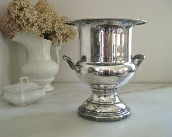 Silver plate champagne bucket ~ Downton Abbey your next affair !