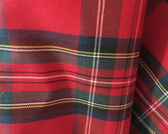 Tartan Plaid twill fabric