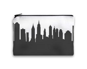New York City Clutch Purse - 6x9 - Skyline Silhouette