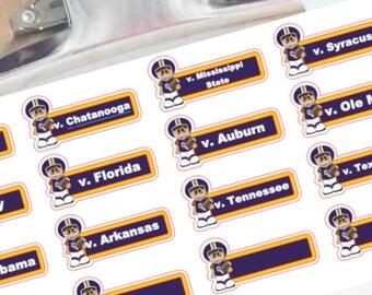 LSU Team Football Schedule 2017 Louisiana State
