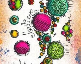 PaperArtsy Eclectica Stamp Set ETS02