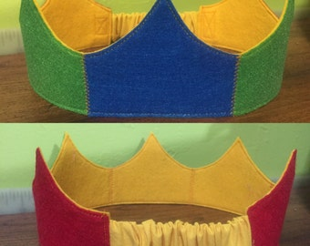 Sapphire, Emerald & Ruby Crown