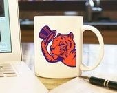 Clemson Man Humorous Graduation Alumnus Gift Present Coffee Mug Cup Tigers Death Valley National Champions Vintage Retro 1950s