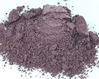 Maybe Matte Smokey Purple Mauve Lavender Natural organic Makeup Eyeshadow  loose  Eye Shadow   Mineral Makeup Vegan Natural Peekaboo