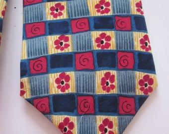 Silk Men's Tie J. Garcia Grateful dead Snail garden collection nine