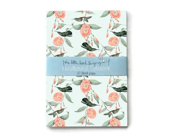 Hummingbird Custom Bullet Journal - Traveler - Notebook - Exercise Book  - 60 Pages