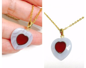 Vintage,  heart pendant/Necklace,gold tone, Figural, Clearance Sale, Item No. E303
